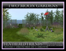 TMG - FEATHERED FRIENDS - Landscaped Garden with animated birds