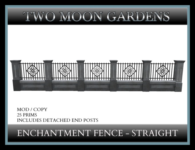 TMG - ENCHANTMENT FENCE STRAIGHT*