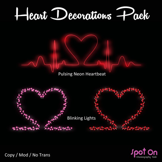 *SO* Heart Decorations Pack