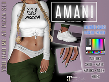 *AMANI* - Had me at Pizza Set