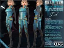 Bella Moda Divisa Astrale - Astral Teal Uniform