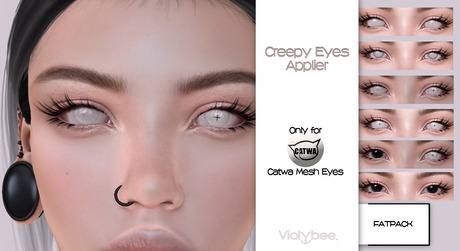 Violybee. Creepy Eyes FATPACK -  Catwa Applier
