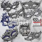 8 Mask chic FP set1