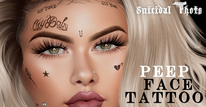 [Suicidal Thots] Peep Face Tattoo (rez & open)