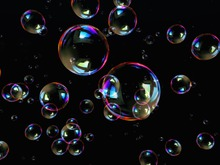 PARTICLE / EMITTER Soap bubbles
