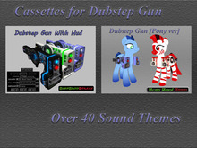 .:CD:. Cassettes for Dubstep Gun