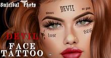 [Suicidal Thots] Devil Face Tattoo