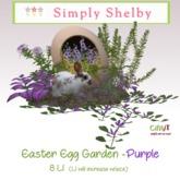 Easter Egg Garden  - purple