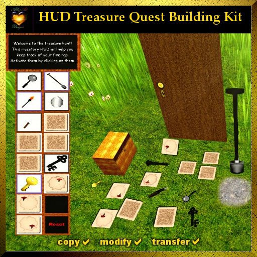 A&A HUD Treasure Quest Building Kit, full permission