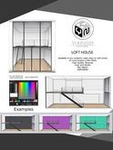 .:YN:. Loft House Clean and Bricks