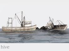 hive // the trawler boat set