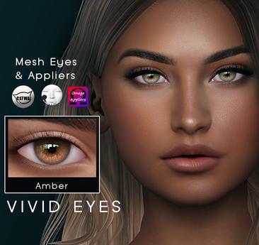 AG. Vivid Eyes - Amber