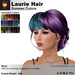 A&A Laurie Hair Summer Colors V2,braided low bun mesh updo style