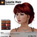 A&A Laurie Hair Red Colors V2,braided low bun mesh updo style