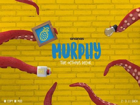 ananas //Murphy the Octopus (Decor)