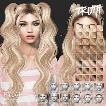 TRUTH Nylah (Fitted Mesh Hair) - Blonde
