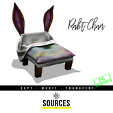 """RABBIT"" Chair RAINBOW by ""Sources""  PG - MESH - Copy and Modify"