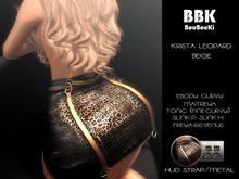 BBK: Krista Leopard Beige (Add Me) Boxed