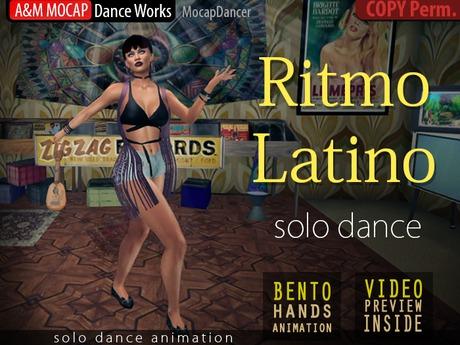 A&M: Ritmo Latino - solo dance animation (Bento) :: #TAGS - salsa, samba