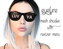 Eyelure Shades   Black LUV YA