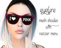 Eyelure Shades  Pink I HEART PINK