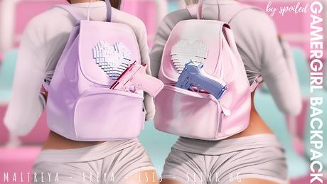 Spoiled - Gamer Girl Backpack Fatpack