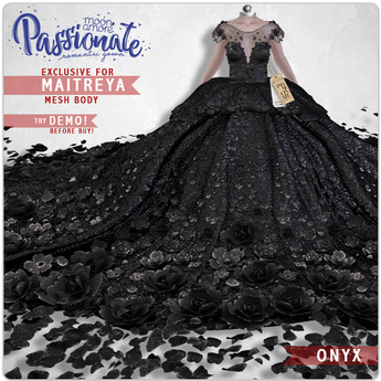 :Moon Amore: Passionate Gown / ONYX
