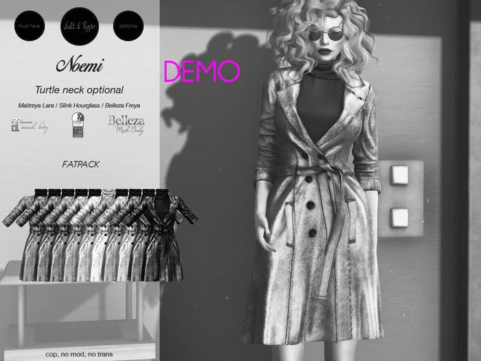 S&P Noemi Trench DEMO (wear to unpack)