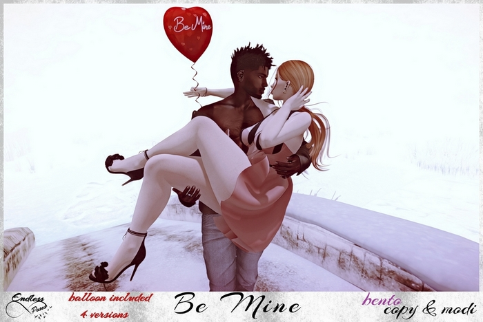 Be Mine Pose (balloon included)