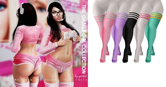 Spoiled - Gamer Girl Stockings Fatpack