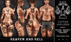 Kaos tattoo   heaven and hell market