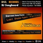 DSL DJ Songboard