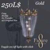 [Figure 8] Les Chandelier Gold (Wear to unpack)