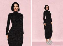 WEST - 'Alexandra' Turtleneck Sweater Dress