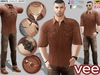 CA PROMO SIGNATURE GIANNI BELLEZA JAKE SLINK VEE OUTFIT BROWN