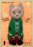 KittyCatS Box - M - NutCracker SweetS! - Green Gummie Boy