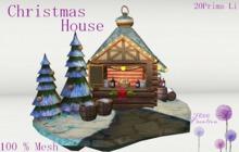 ~Christmas House ~ Mesh