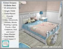 *CC* Sweet Dreams TD/Bebe Bed (WEAR to UNPACK)