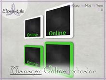 {Elementals} Manager Online Indicator {Private Message Link}