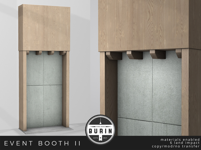 Burin: Event Booth II