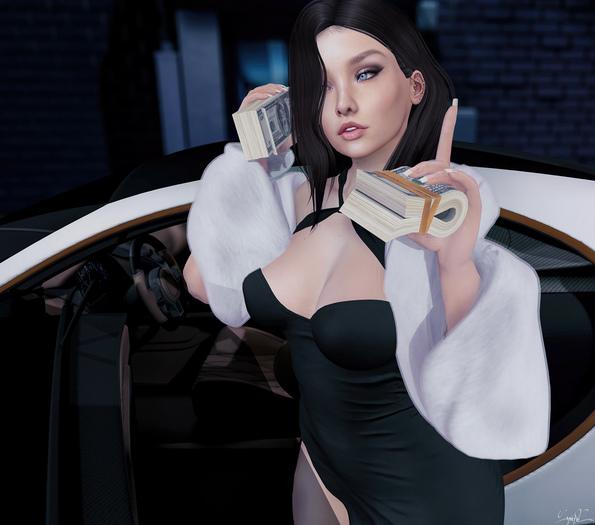 *!R.O!* One Moment -FEMALE- BENTO GIFT Pose w/ Mesh Money