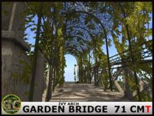 GARDEN BRIDGE IVY ARCH