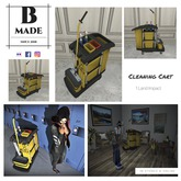 B-Made Cleaning Cart