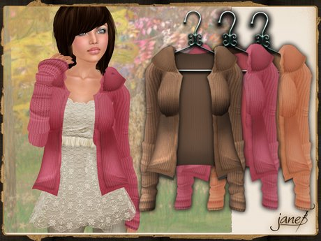JANE -  warm embrace cardigan.greedy pack