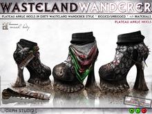 0o Morph - Wasteland Wanderer Ankle Heels (Maitreya)