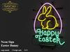 .: RatzCatz :. Neon Sign Wall *Easter Bunny* 01