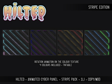 HILTED - Animated Cyber Panel - Stripe Pack