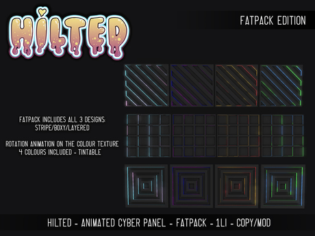 HILTED - Animated Cyber Panel - FATPACK