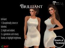 Brilliant Dress - Ivory