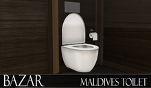 ~BAZAR~ Maldives -Toilet